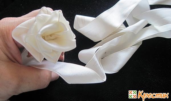 Формируем розу