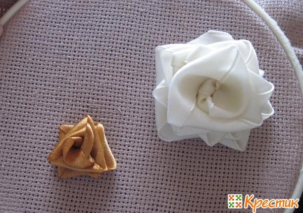 Мастер класс вышивка лентами для начинающих розы