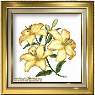 Элегантные лилии