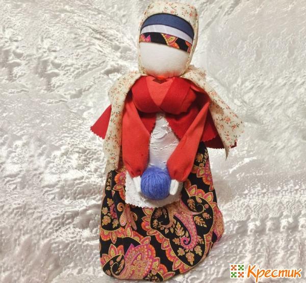 Какими были куклы-обереги на Руси: 19 самых значимых славянских кукол из ткани, Крестик