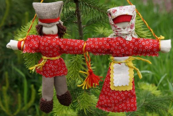 Неразлучники кукла оберег