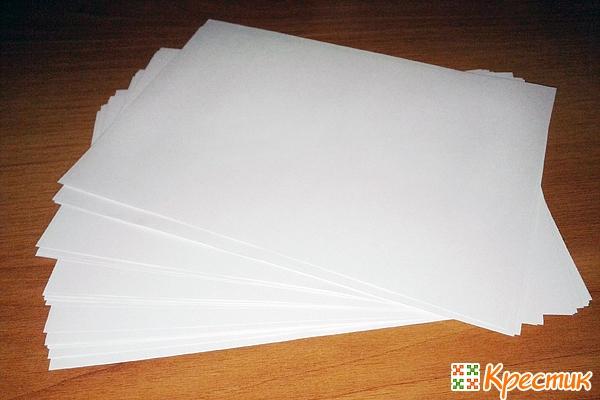 Готовим бумагу