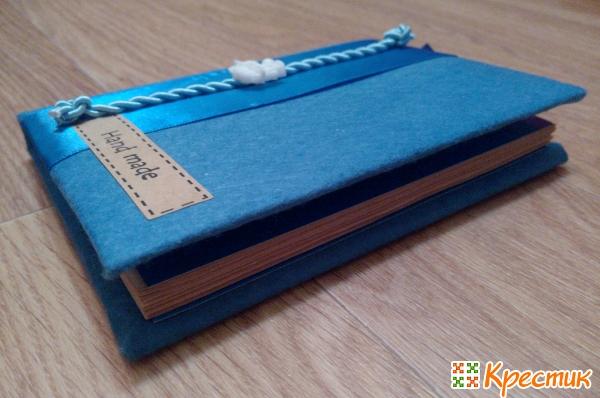 Как украсить блокнот своими руками