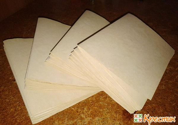 Собираем бумажный блок