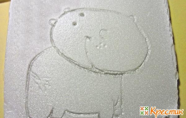 Рисуем бегемотика