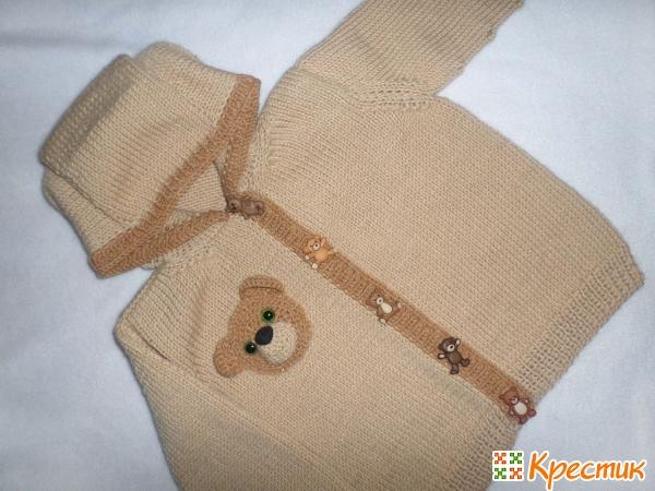 Вязание спицами для детей до года
