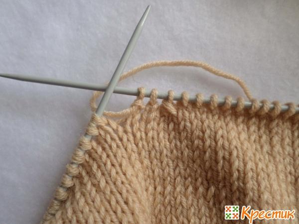Вяжем основу свитера