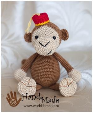 Поделки обезьяна своими руками
