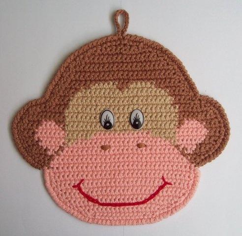 Прихватка обезьяна