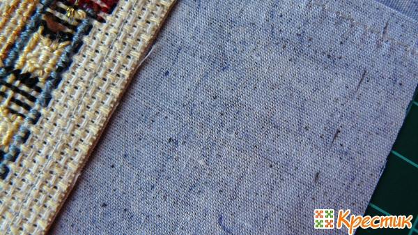 Как оформить вышивку без рамки