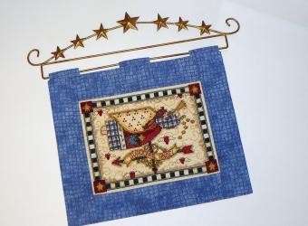 Оформляем вышивку дома