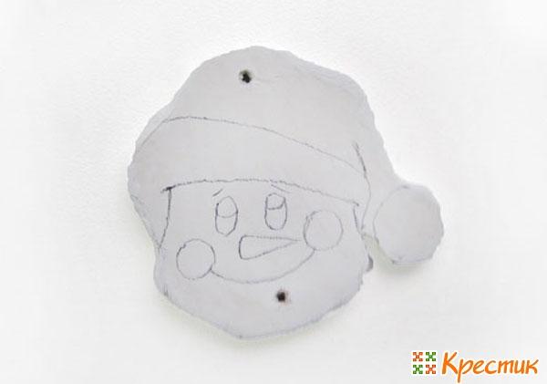 Снеговик из ДСП