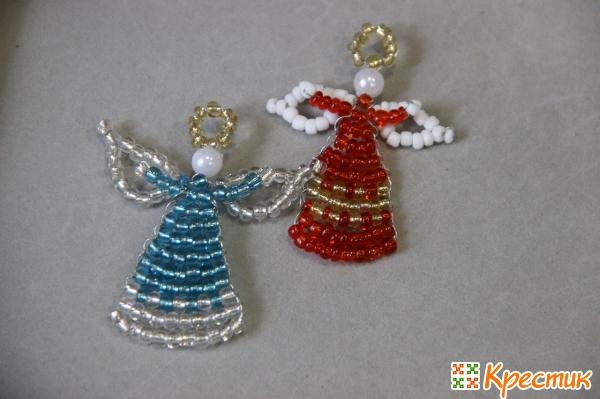Ангелы из бисера