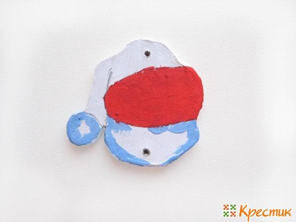 Шапочка снеговика
