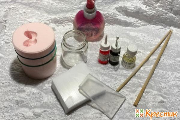 Материалы для мыла