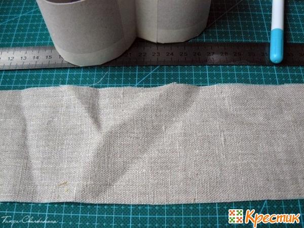 Полоса из ткани