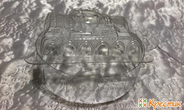 Пластиковая форма и подставка для мыла