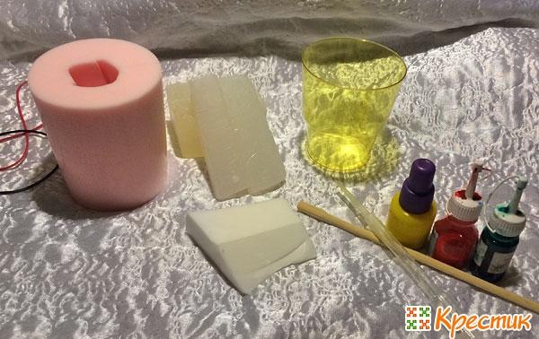 Материалы для создания мыла