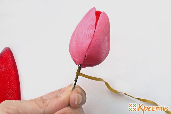 Приступаем к сборке цветка