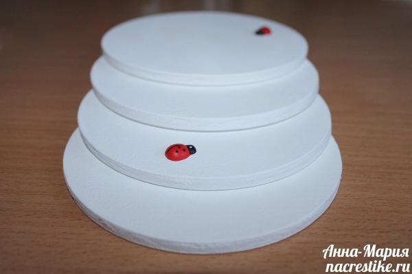 Заготовки для декупажа из дисков
