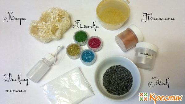 Декоративные элементы для мыла
