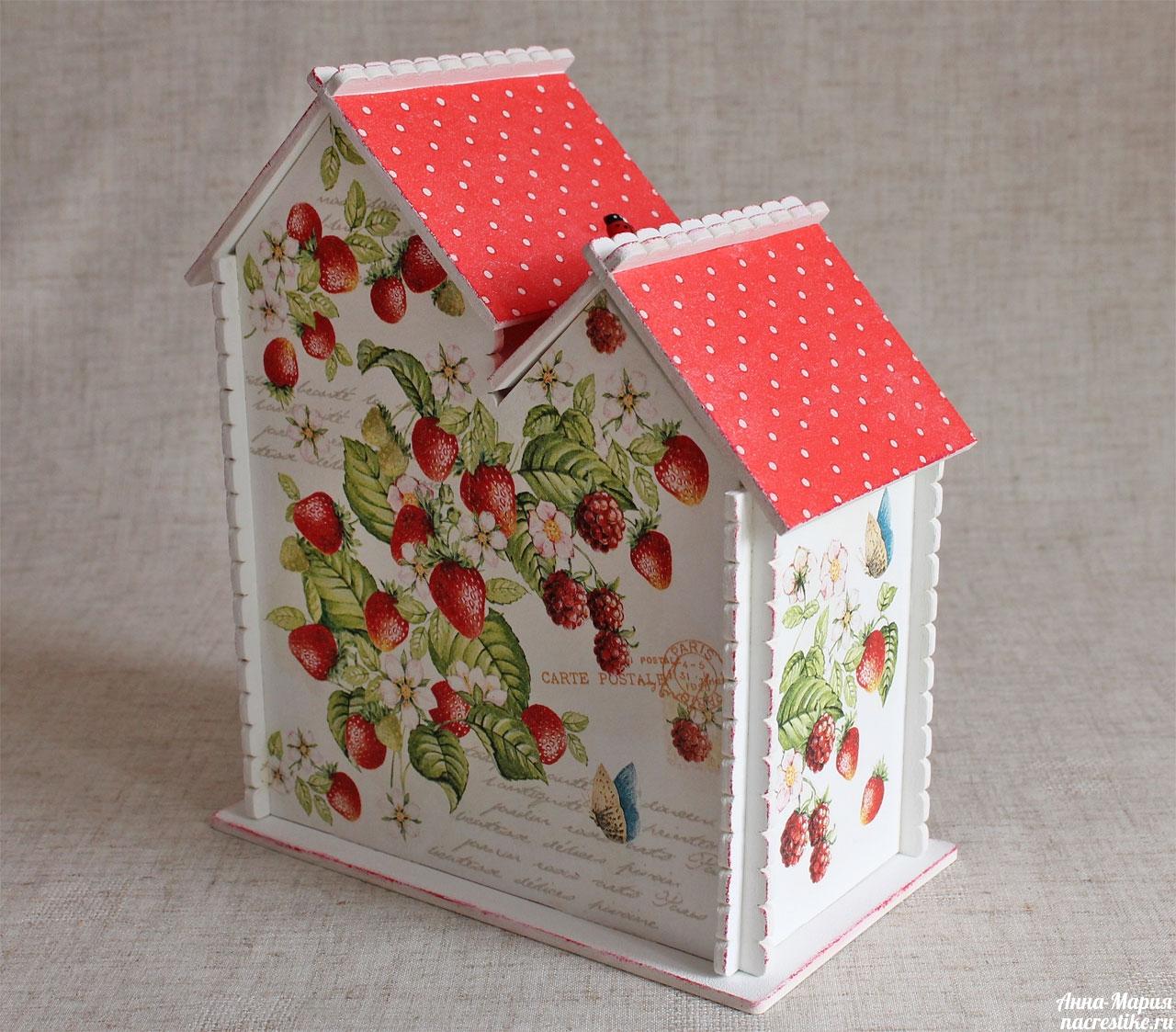 Декорирование чайного домика и конфетницы своими руками фото