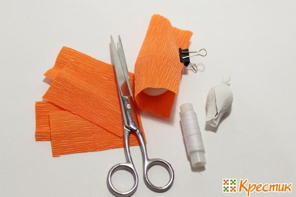 Заготовки из гофрированной бумаги