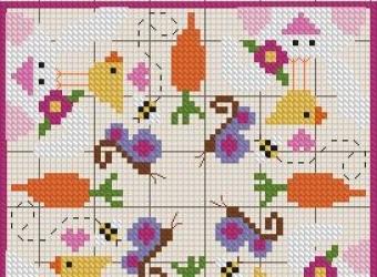 Бискорню с зайцами и цыплятами