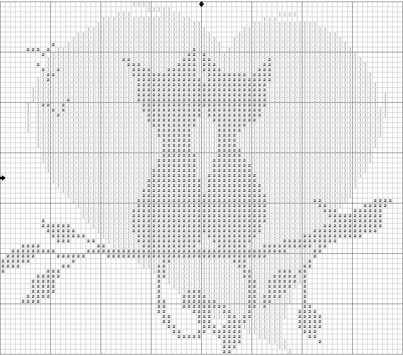Вышивка крестом влюблённые коты схемы
