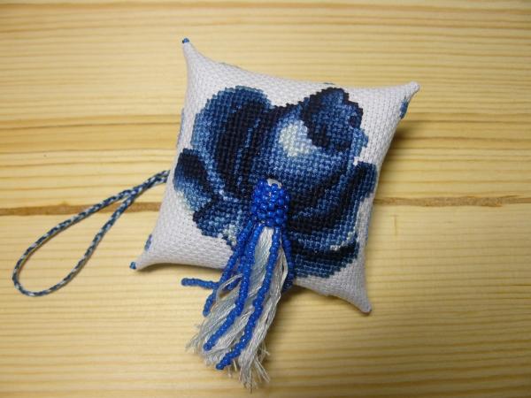 Зигугу российская сине-белая гжель