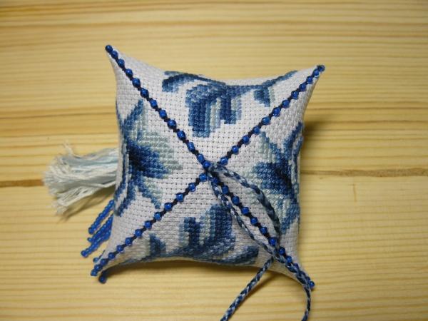 Зигугу сине-белая гжель