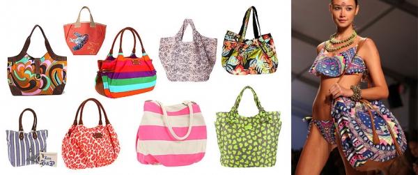 Пляжные сумки 2016