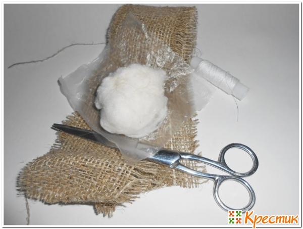 материалы для изготовления декоративного чеснока