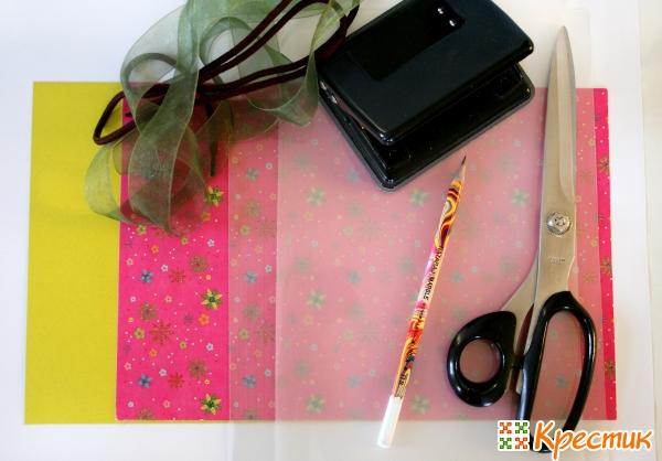 Материалы для изготовления цветка-шнуровки