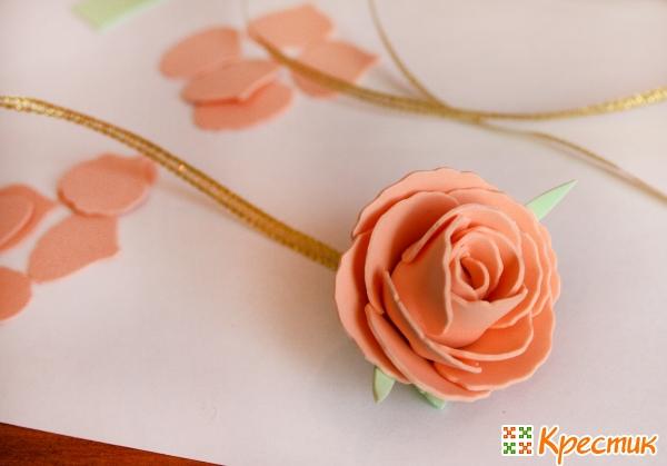 Мастер класс по розе из фоамирана