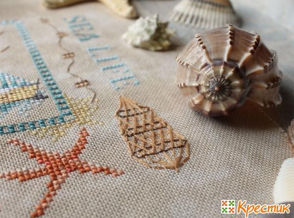 Детали вышивки