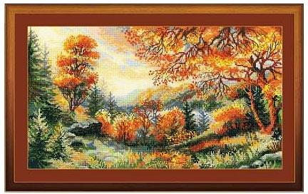 Багряная осень