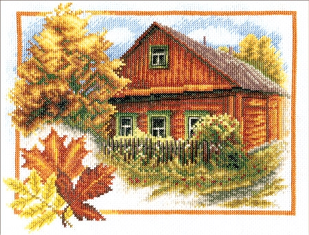 Осень в деревне Панна
