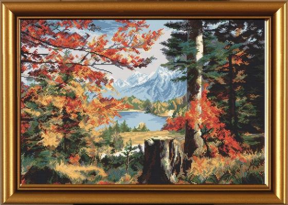 Осень в долине Нова Слобода