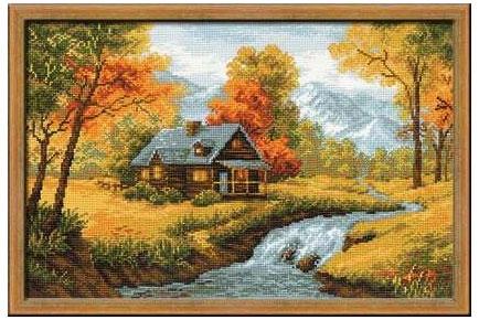 Осенний пейзаж Риолис