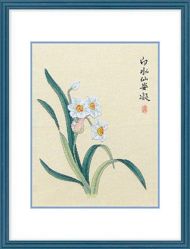 Белый нарцисс от Xiu Crafts