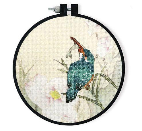 Зимородок набор для вышивания