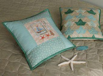 Как оформить вышивку в наволочку на подушку