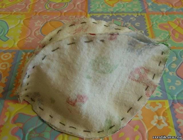Как сшить шар из ткани