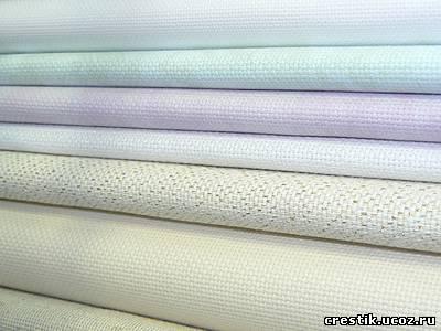 Ткань для вышивки лен купить