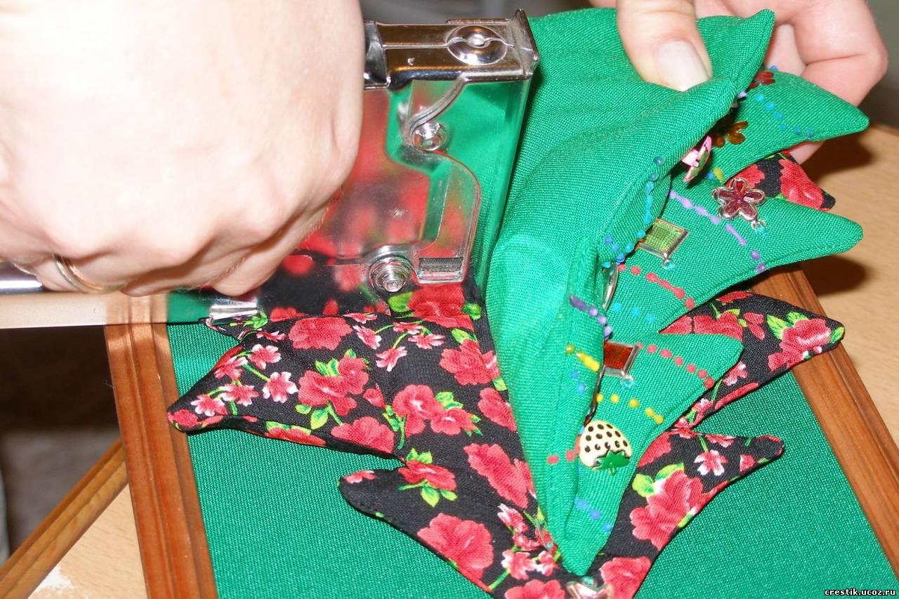 Как сделать свою на ткани
