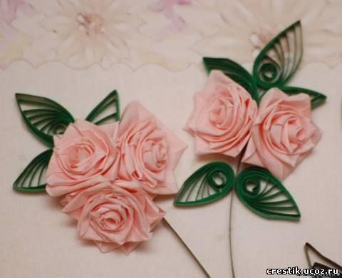 Цветок для штор из органзы своими руками