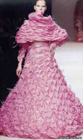 буфы на платье