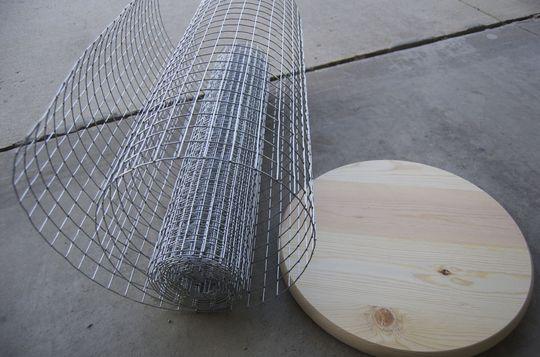 материалы для изготовления каорзины