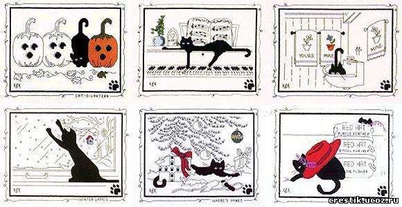 Серия «Чёрная кошка» - схемы